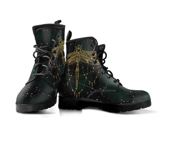 Handcrafted Dragonfly Alchemy Boots.