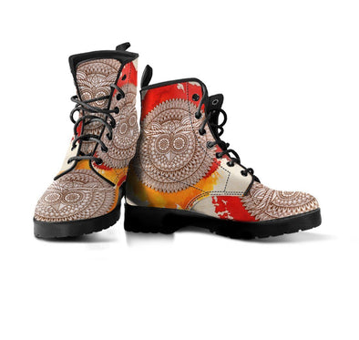 HandCrafted Decorative Owl Boots