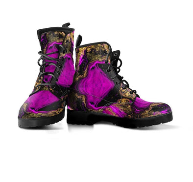 HandCrafted Abstract Art Boots