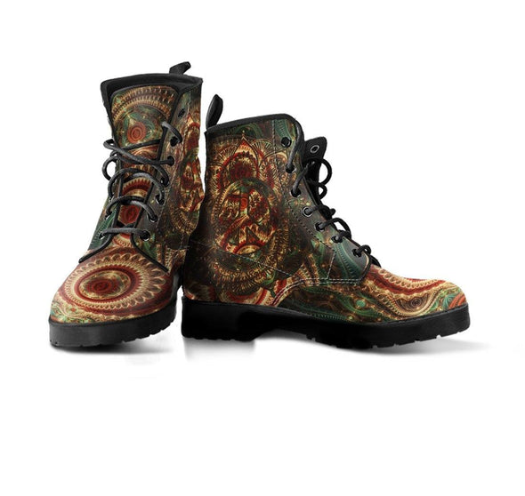 HandCrafted Mystical Peace Mandala Boots