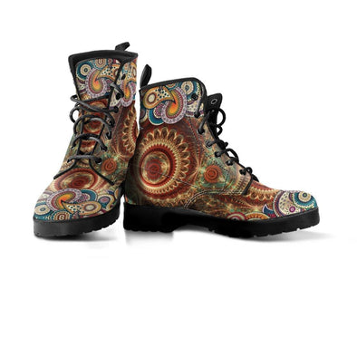 Handcrafted Magical Paisley Boots