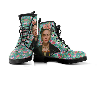 HandCrafted Frida Kahlo Flower Boots