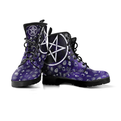 Handcrafted Wicca Boots.