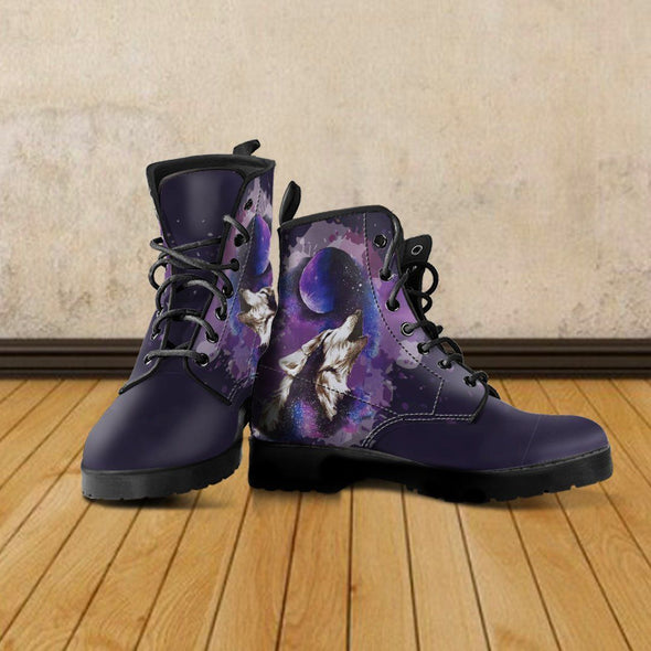 Wolf and Moon Premium Boots