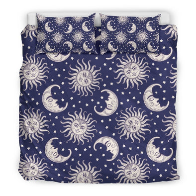 Hypnotic Sun and Moon Bedding Set