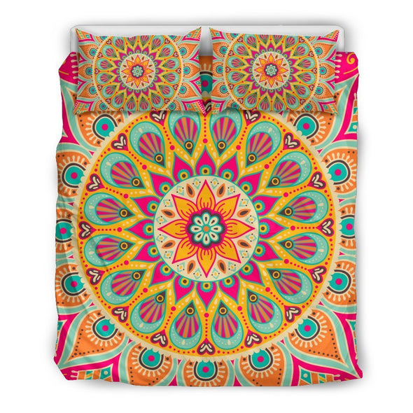 Colorful Mandala Bedding Set