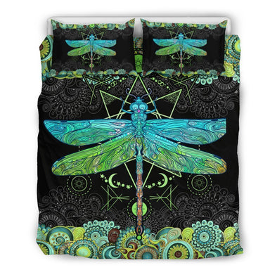 Mandala Dragonfly Bedding Set