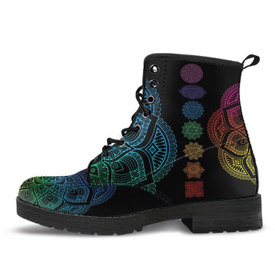 HandCrafted Chakra Ascension Boots..