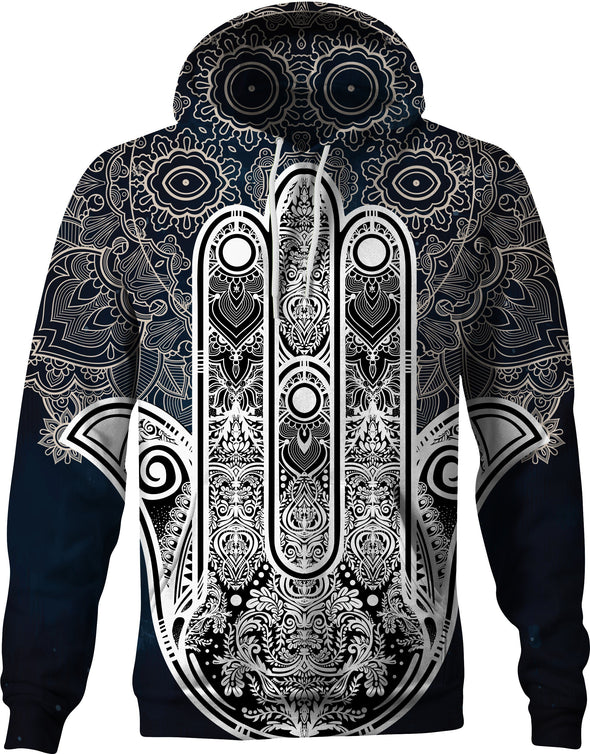 HandCrafted Hands of Hamsa Trace Hoodie