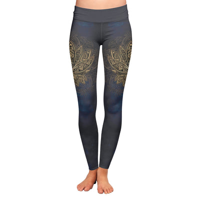 Lotus Mandala Leggings