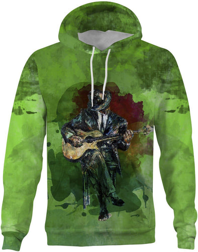 HandCrafted Robert Johnson Hoodie