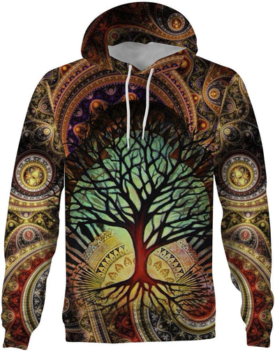 HandCrafted Tree of Live v2 Hoodie