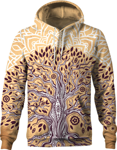 HandCrafted Earthly Tree of Life Hoodie