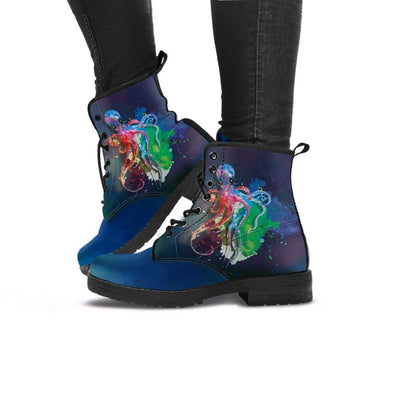Handcrafted Octopus Boots.