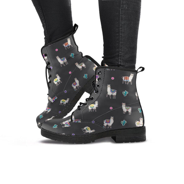 Handcrafted Llama Boots.