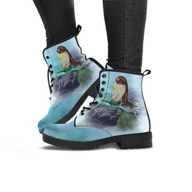 Handcrafted Mermaid Boots.