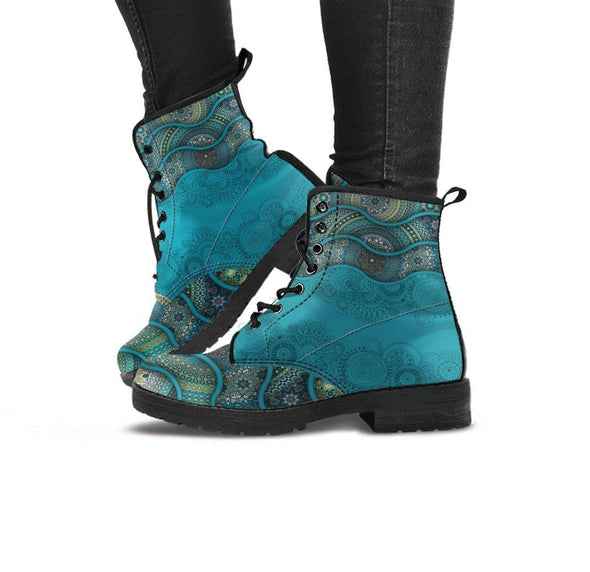 Handcrafted Ornate floral 1 Boots