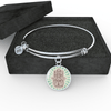 Hands of Hamsa Peace Luxury Bangle
