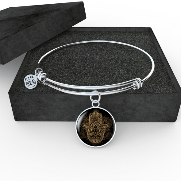 Hands of Hamsa Divine Luxury Bangle