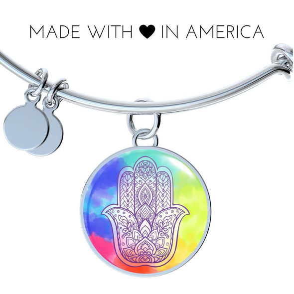 Hands of Hamsa Protection Luxury Bangle