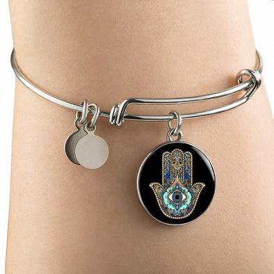 Hands of Hamsa Luxury Bangle