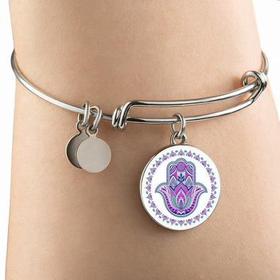 Hands of Hamsa Luck Luxury Bangle