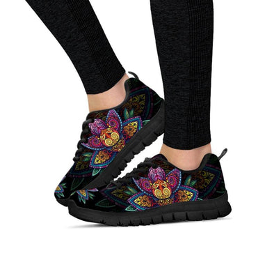 Womens Sugar Lotus Mandala Sneakers