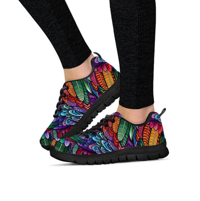 Limited Time 60% Boho Feather Handcrafted Sneakers