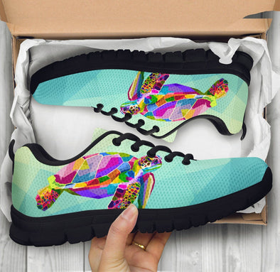 Limited Time 60% Colorful Turtle Ocean Handcrafted Sneakers
