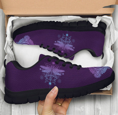 Purple Dragonfly Sneakers