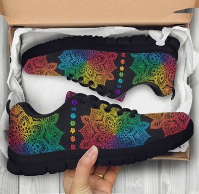 Limited Time 60% Colorful Chakra Mandala All-over Handcrafted Sneakers