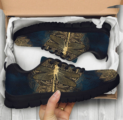 Gold Dragonfly Sneakers