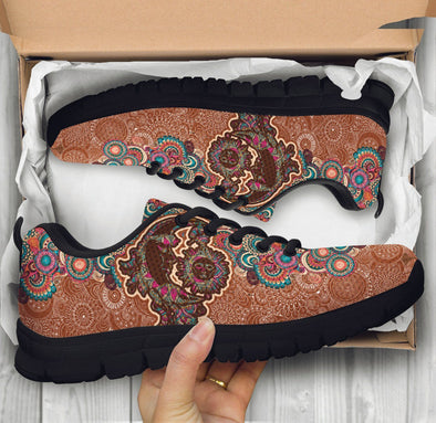 Paisley Sun and Moon Sneakers