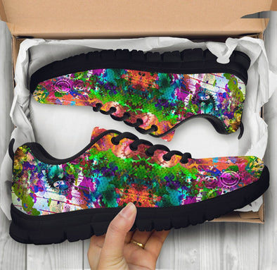 Colorful Abstract Art HandCrafted Sneakers