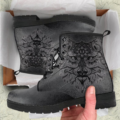 HandCrafted Boho Wolf Boots