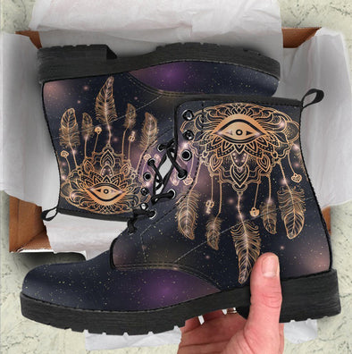 HandCrafted Eye Dreamcatcher Boots