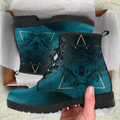 HandCrafted Spiritual Wolf Boots
