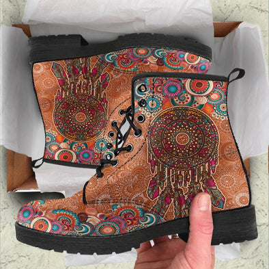 HandCrafted Paisley DreamCatcher Boots