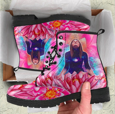HandCrafted Lotus Women Boots