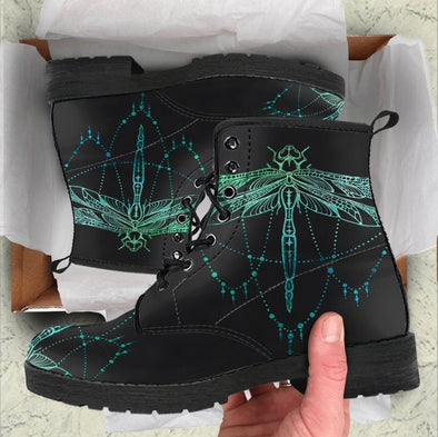 HandCrafted Light Dragonfly Boots