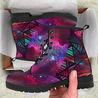 HandCrafted Galaxy Aztec Boots