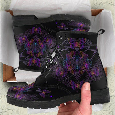 HandCrafted Butterfly Lotus 2 Boots