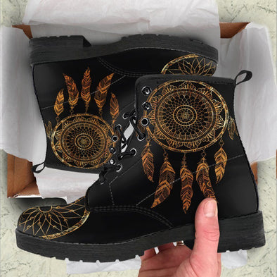 HandCrafted DreamCatcher Golden Boots