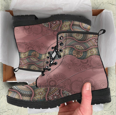 Handcrafted Ornate floral 2 Boots