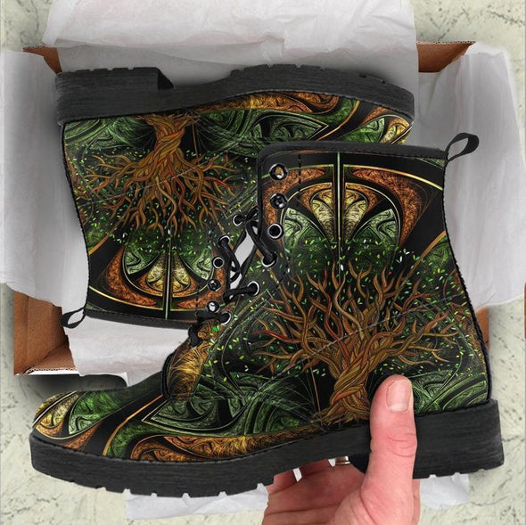 Clearance Fractal Tree of Life Boots