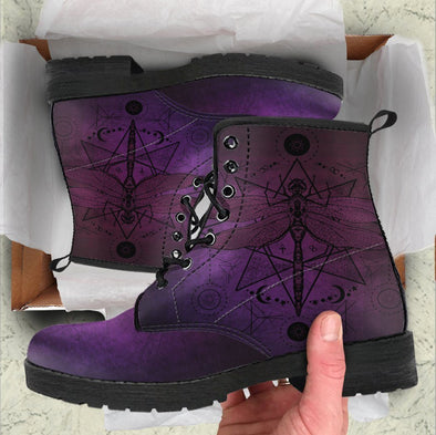 HandCrafted Spiritual Dragonfly Boots