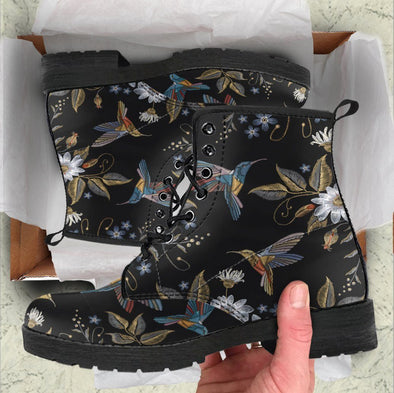 Mystical HummingBirds Paradise Boots