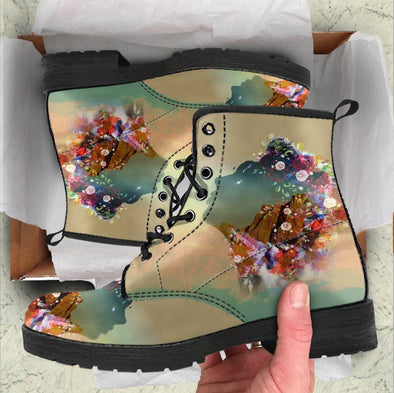 HandCrafted Kiss of Sky Boots