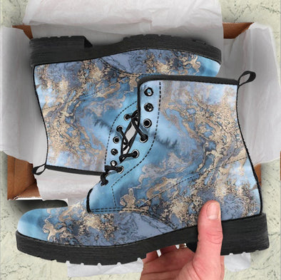 HandCrafted Marble Style Boots
