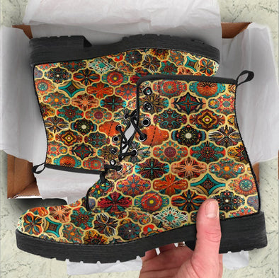 HandCrafted Bohemian Pattern 2 Boots